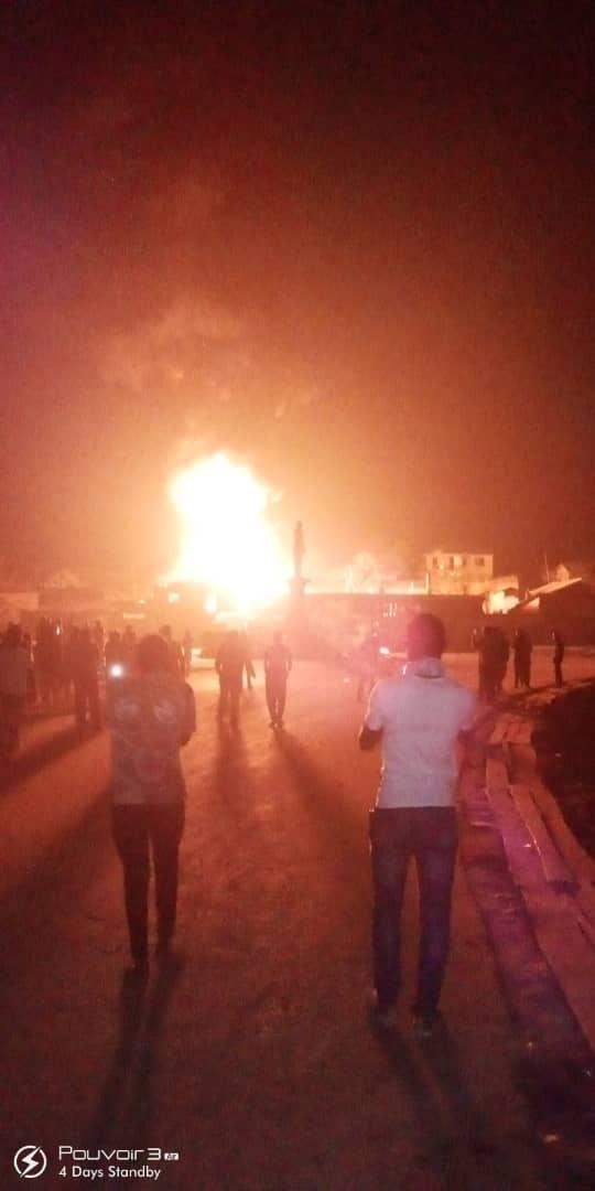 Butembo : Une mini station se consume. Le pire est évité grâce au camion anti-incendie de la MONUSCO