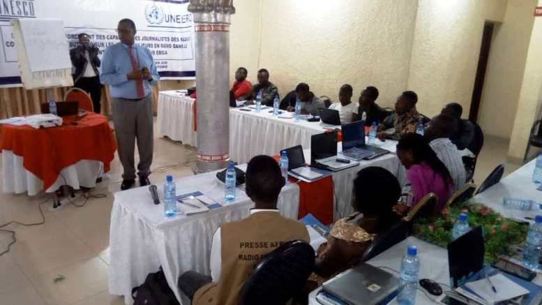 Butembo : Les journalistes capacités par l'UNESCO pour lutter contre Ebola