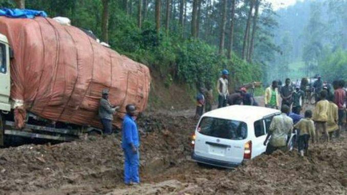 Nord-Kivu : La Route-Nationale numéro 2 dans un état de délabrement avancé