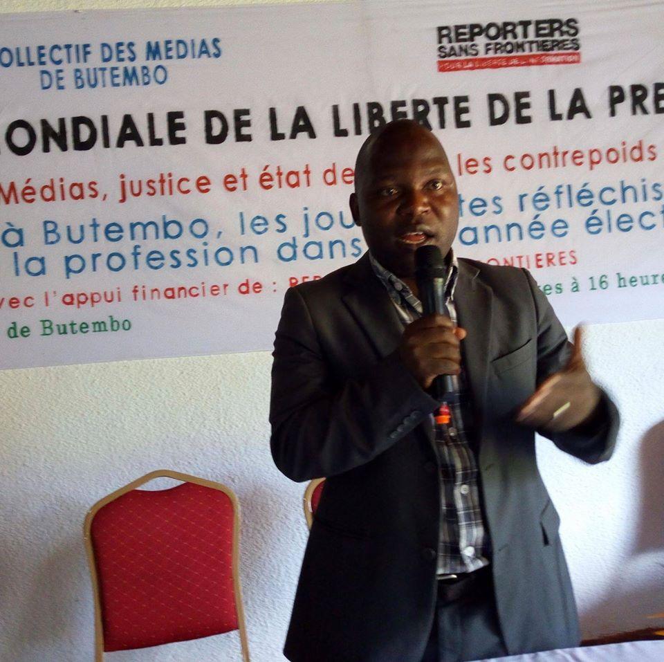 Butembo : Journée mondiale de la radio,  Muhindo Wema Kennedy déplore le mercenariat dans la profession de journaliste
