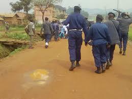 Butembo : La police déployée depuis le matin de ce jeudi dans plusieurs points chauds au lendemain de la détention   de  Vital Kamerhe