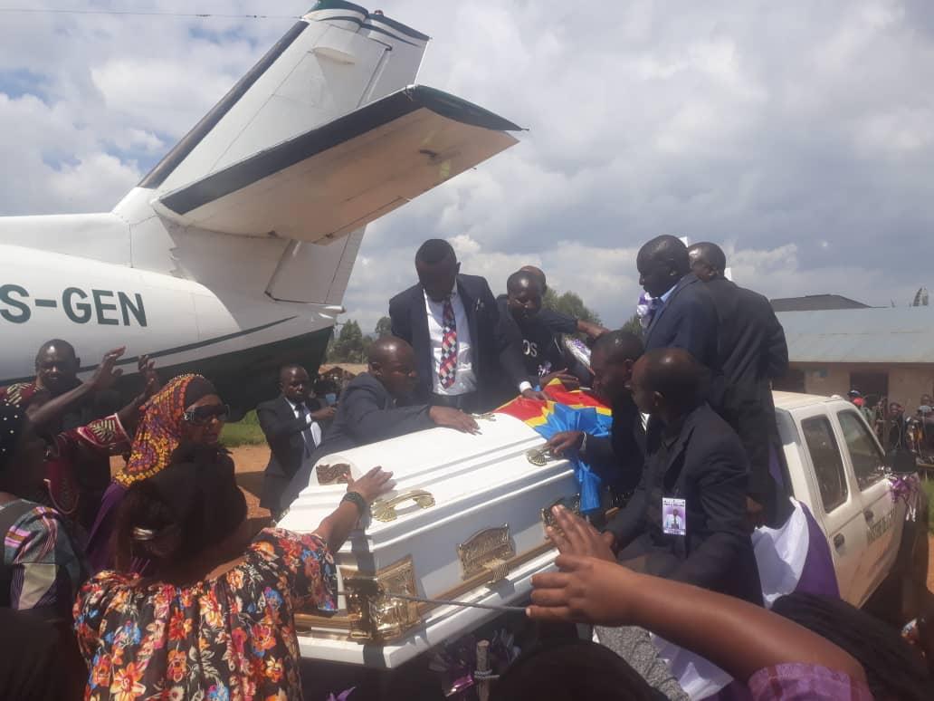 Nord-Kivu : Le corps de l'IPP Ilumbi Lusolo ramené à Bukavu après des hommages mérités