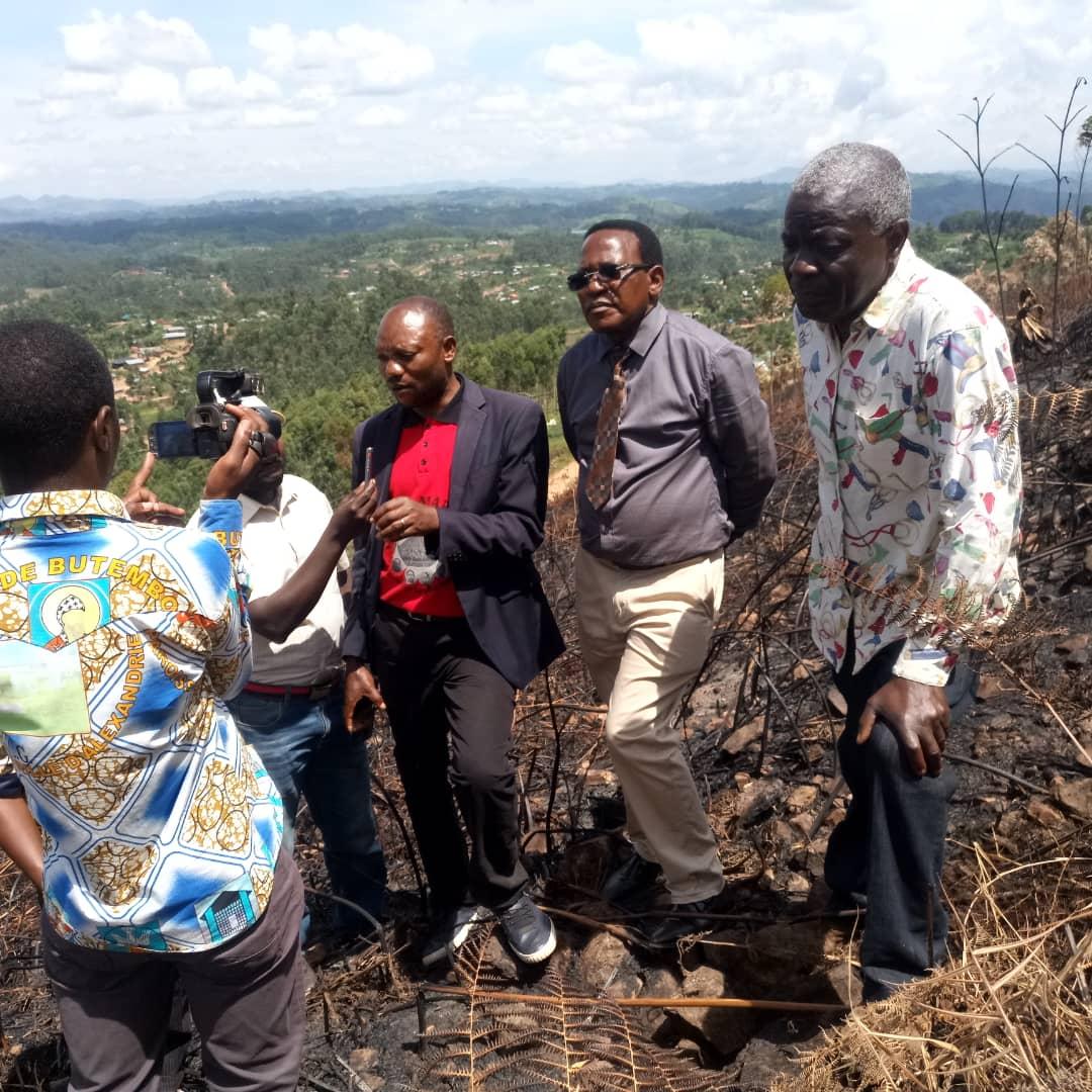 Butembo/Incendie au Mont Tabor : La mesure d'interdiction des visites intempestives  sur le site de l'UCG doit être observée