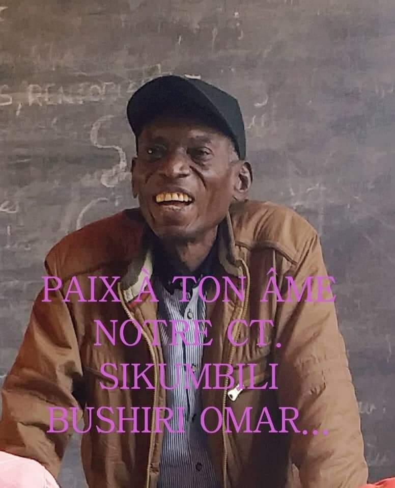 Butembo : Le corps du CT Sikumbili Bashir de l'IBTP sera rapatrié à Kinshasa ce samedi via Goma