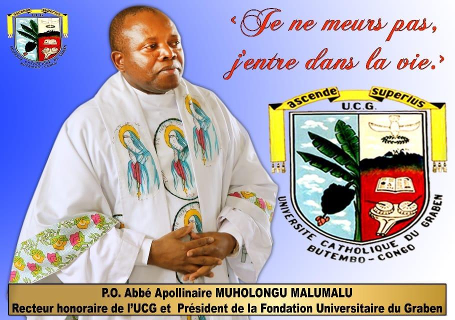 Butembo/UCG : Commémoration du 4e anniversaire de décès de l'Abbé Malumalu, président honoraire de la CENI