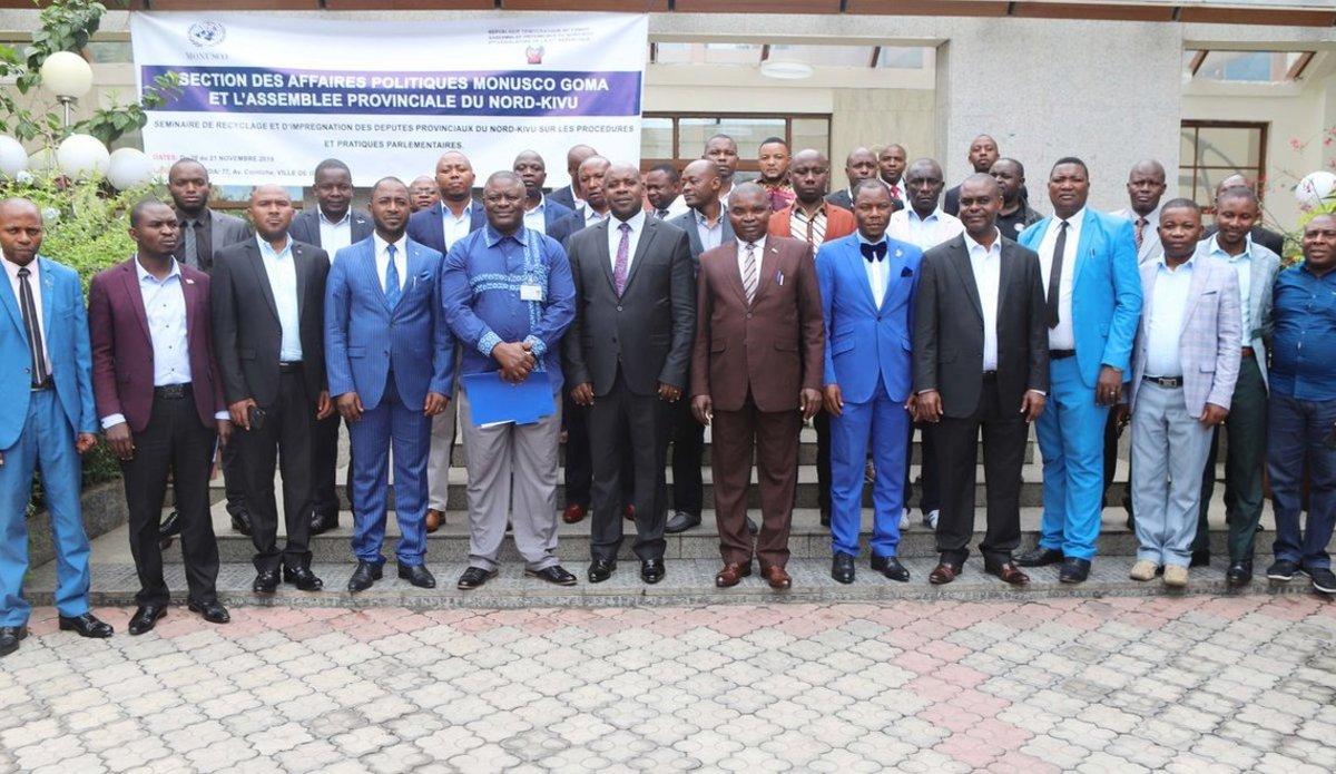 Nord-Kivu : Les députés viennent de totaliser 10 mois impayés « Hon Mbenze Yotama»