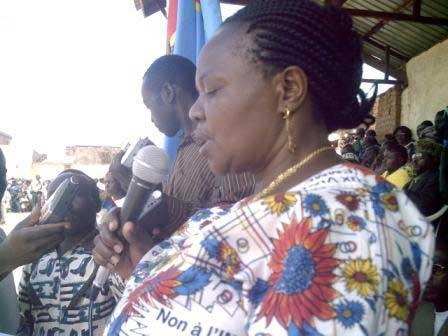 Butembo : N'abandonnez pas   vos  enfants aux domestiques de sexe masculin pour les prévenir des violences sexuelles (Mme Alphonsine Lusenge)