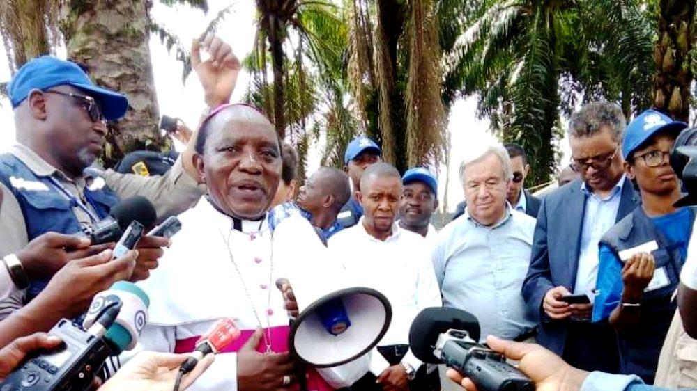 Déclaration de la fin d'Ebola, l'Evêque de Butembo-Beni s'en réjouit et appelle à la prudence