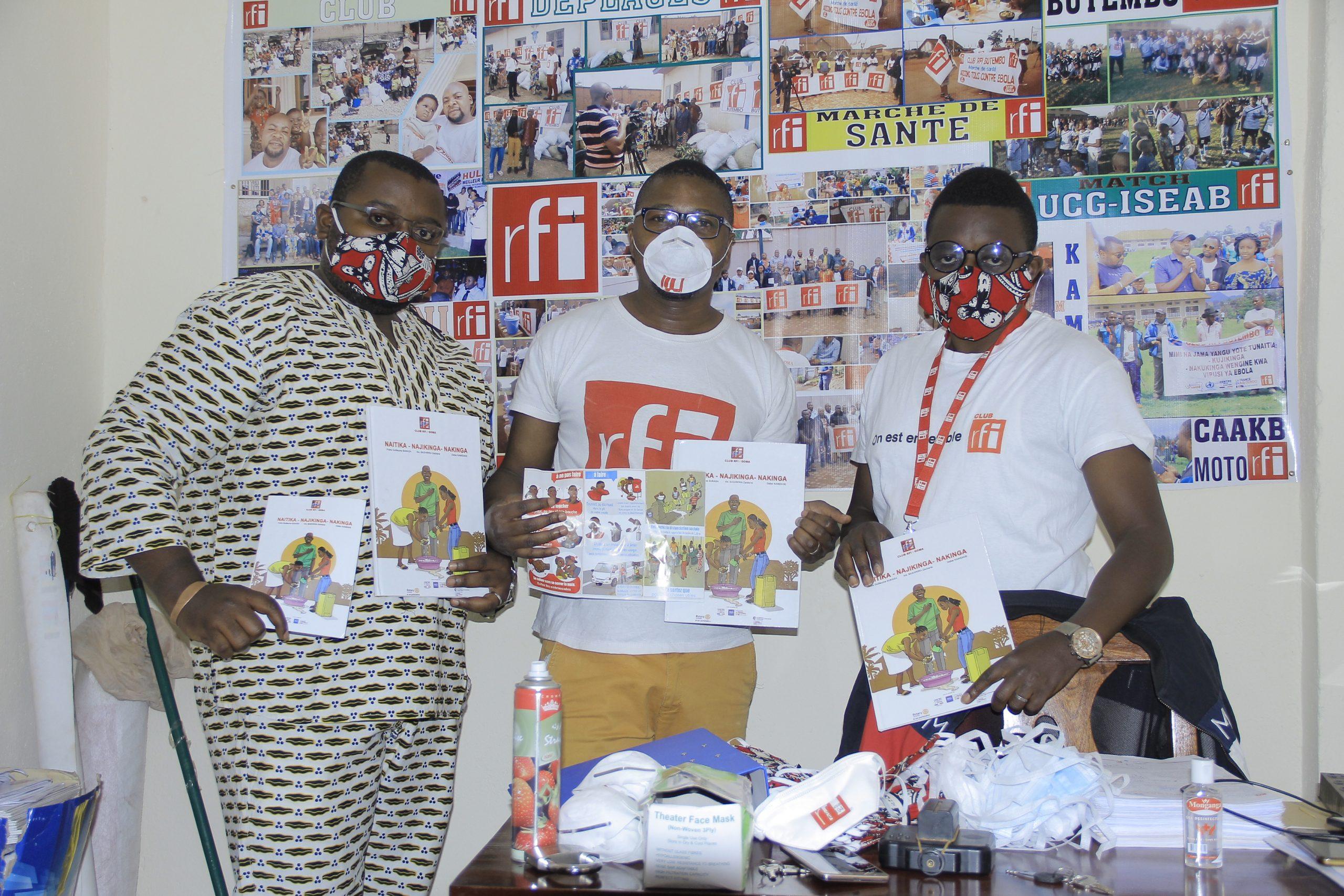 Butembo : Le Club RFI a désormais son propre bureau