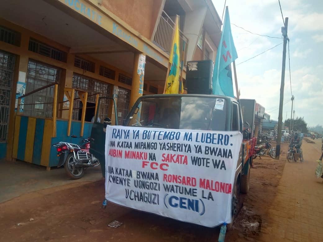 Butembo: Le RCD-K/ML et la DCF-N maintiennent leur campagne contre lois Minaku-Sakata malgré l'opposition du maire