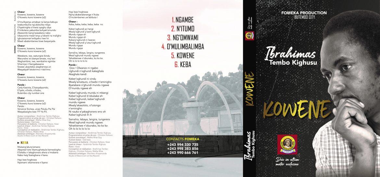 Ibrahimas Tembo Kighusu, un Mozart qui prépare un album d'hommage à Monseigneur l'Archevêque Emmanuel Kataliko