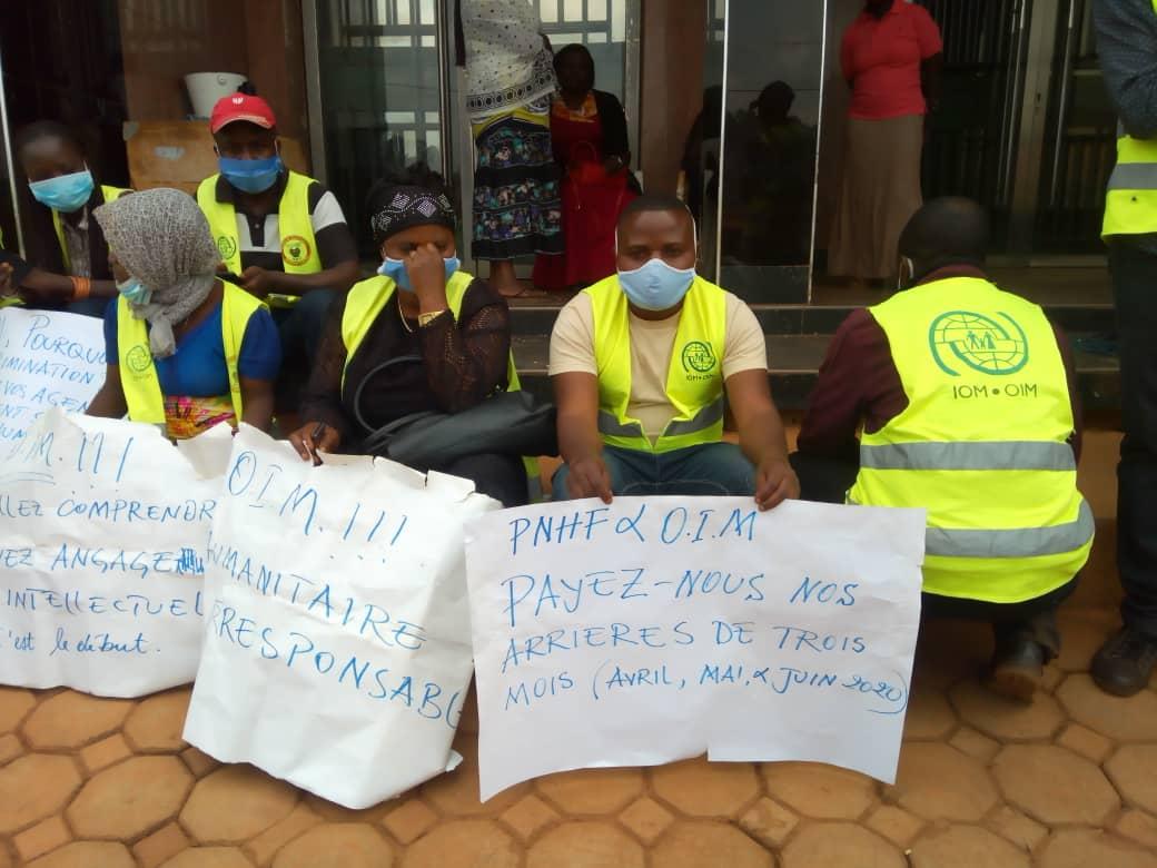 Butembo : Des agents de la riposte commis aux barrières réclament trois mois de salaire à l'OIM