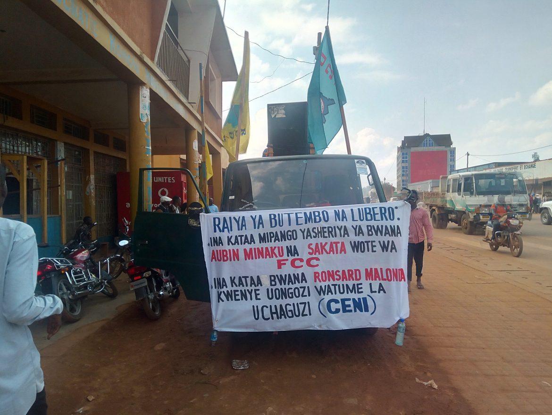 Butembo : Le RCD-K/ML lance des actions contre les lois Minaku-Sakata et les animateurs désignés de la CENI