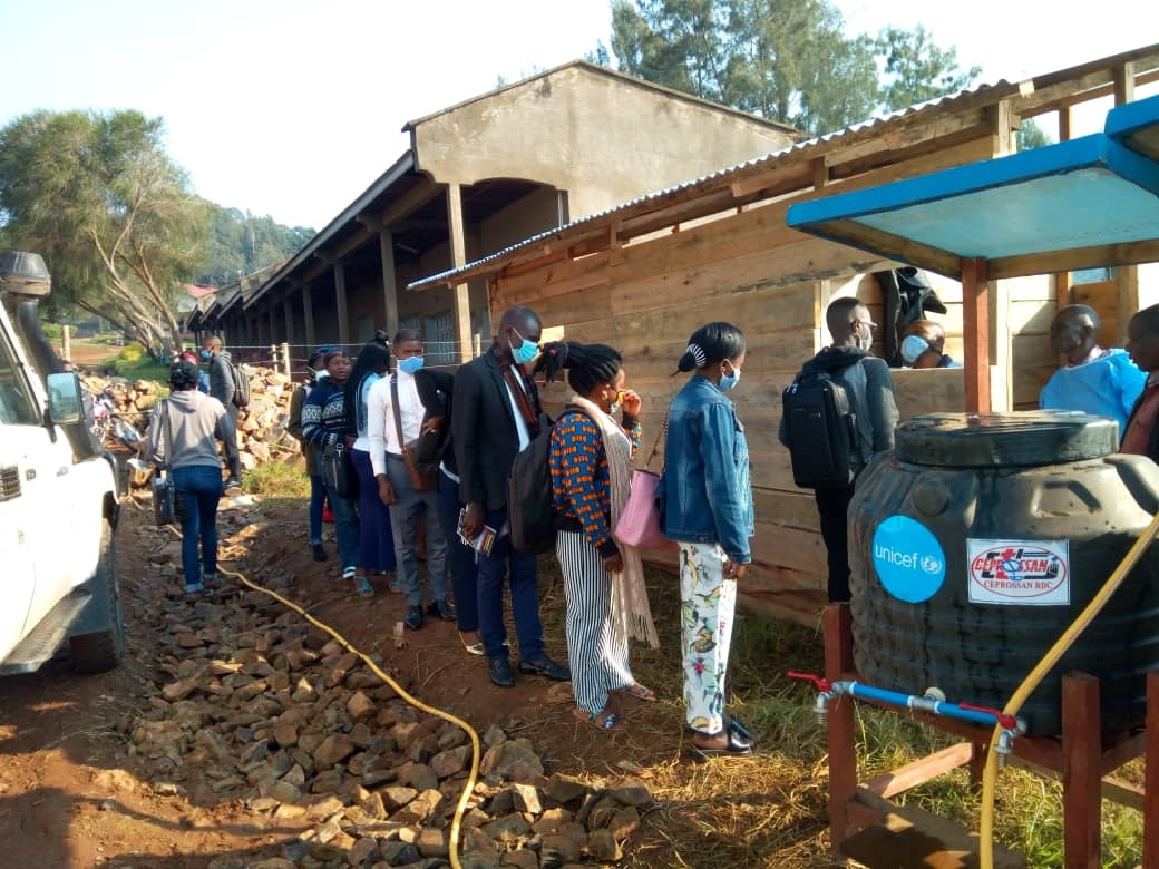 Butembo : L'Université Catholique du Graben durcit les mesures d'hygiènes pour lutter contre la propagation du coronavirus