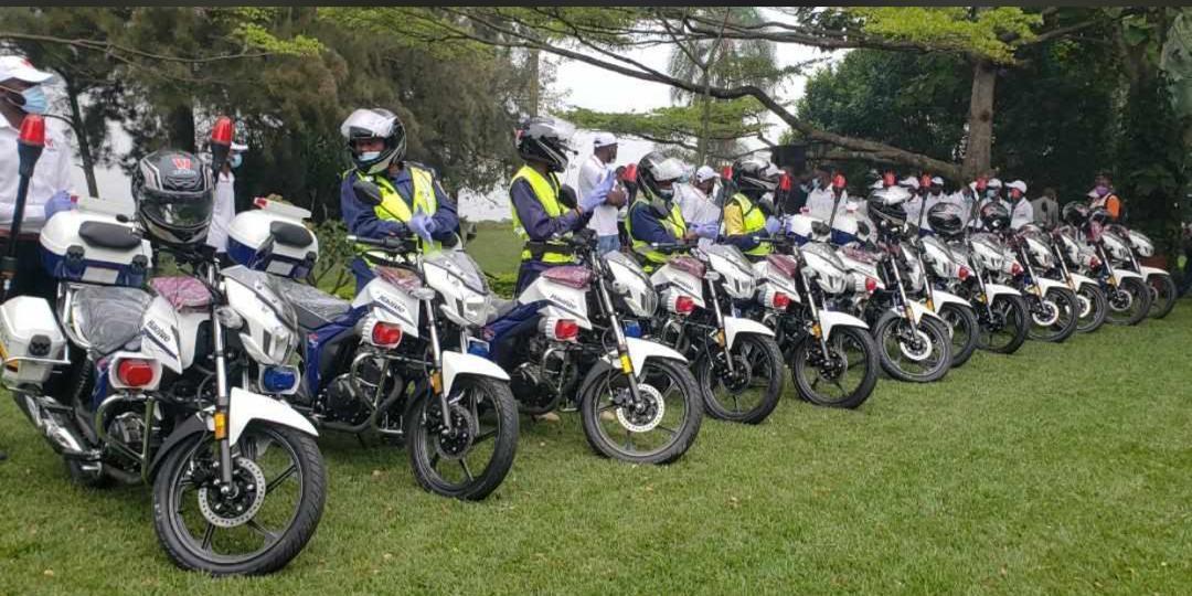 Nord-Kivu : les établissements Nzoli dotent le gouvernement provincial de 14 motos