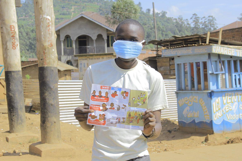 Nord-Kivu : Ne sera  autorisée de sortir de chez soi que la personne porteuse de masque