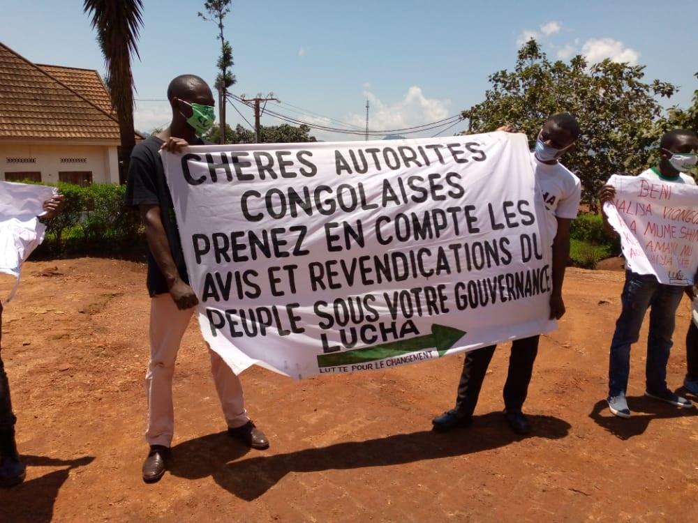 Butembo : la LUCHA exige du maire des preuves de la réception de ses memos sur la situation de Beni par présidence
