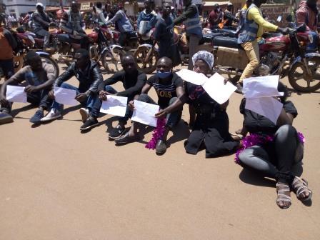 Butembo : les Jeunes Patriotes pour le Changement ont marché pour exiger l'installation du Tribunal Pénal International pour la RDC