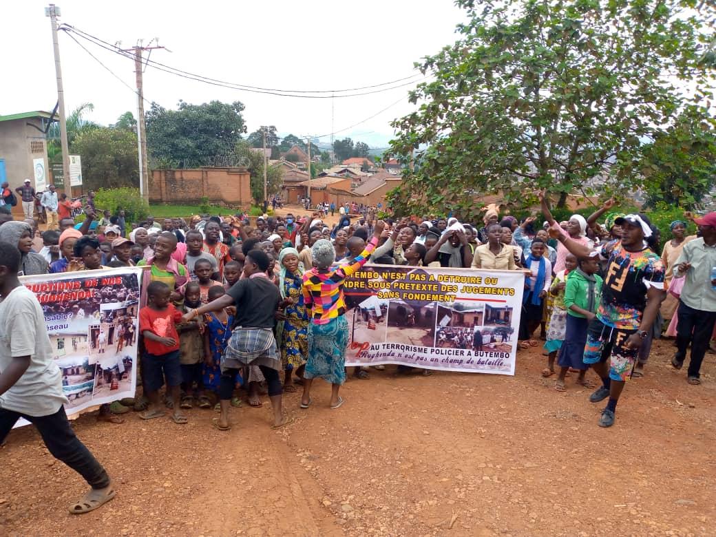Butembo : les victimes du déguerpissement de Rughenda demandent le départ du commissaire urbain de la police