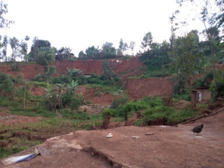 Butembo : Une cinquantaine des familles victimes de l'éboulement de terre à Vutsundo se plaignent du silence de l'Etat