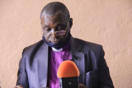 Butembo-covid 19 : L'ECC regrette que les mesures barrières soient bafouées même dans les églises (Mgr Ise Somo)