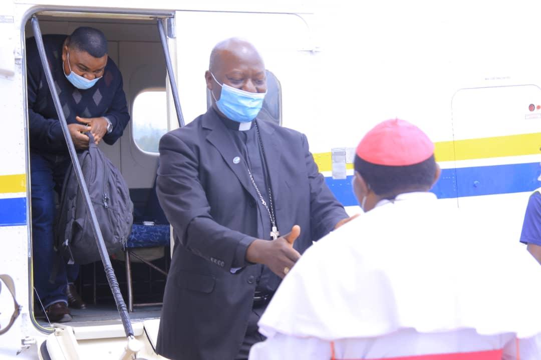 Butembo-Beni: visite pastorale de quatre évêques de l'Association des Conférences Episcopales de l'Afrique Centrale entre le 15 et le 20 janvier 2021