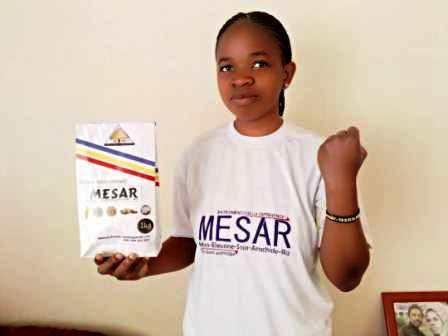 Entreprenariat : une jeune agronome ressortissante de l'UCG crée une start-up innovante dans l'agroalimentaire à Goma