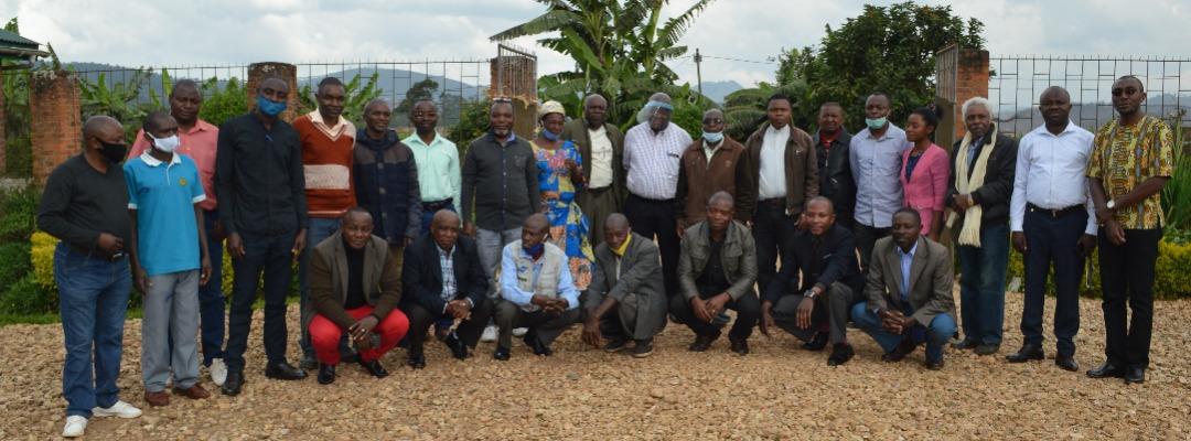 Butembo : plus de 24 concessionnaires en atelier de formation  sur la gestion participative des concessions agropastorales en territoire de Lubero