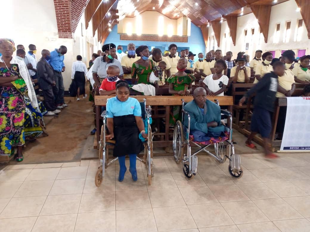 Butembo : Le centre pour handicapés Heshima Letu souffle sur ses 50 bougies