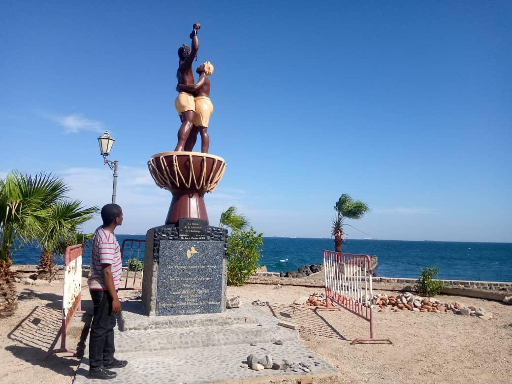 JM Abolition esclavagisme : Claude Sengenya, en séjour au Sénégal, nous raconte sa vive émotion à la découverte de l'île Gorée