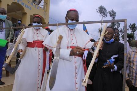 Nord-Kivu/Mission pastorale ACEAC&CENCO : un vrai mai-mai protège sa terre mais ne tue pas son frère (Mgr François-Xavier MAROY)