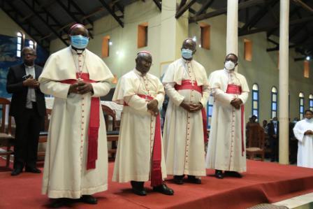 Nord-Kivu : les évêques de l'ACEAC et de la  CENCO sont arrivés à Butembo (Voici le programme)