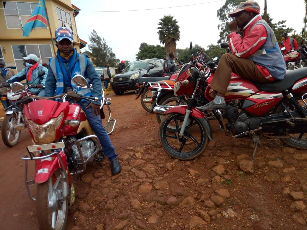 Butembo/dossier plaque : la police libère progressivement  sans frais les motos saisies